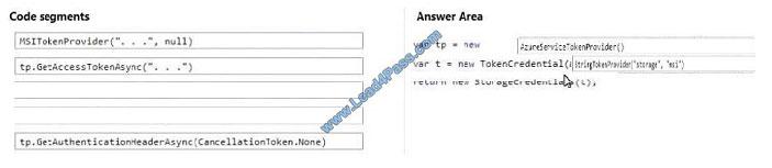 lead4pass az-203 exam question q7-1