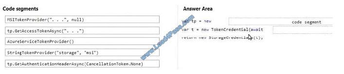 lead4pass az-203 exam question q7